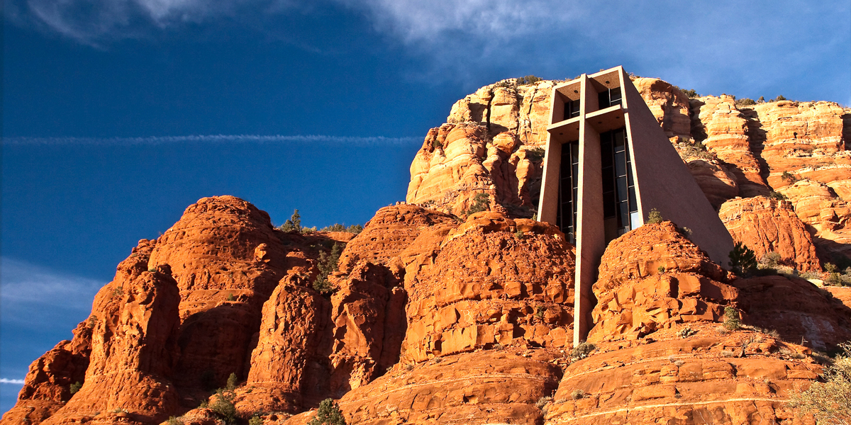 CHAPEL OF THE HOLY CROSS,SEDONA