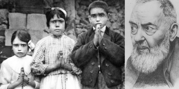 CHILDREN OF FATIMA,PADRE PIO