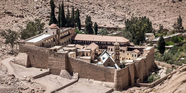 Monastery St. Catherine Egypt Sinai