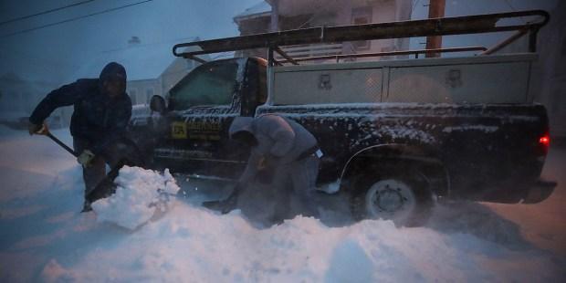 storm US Snow