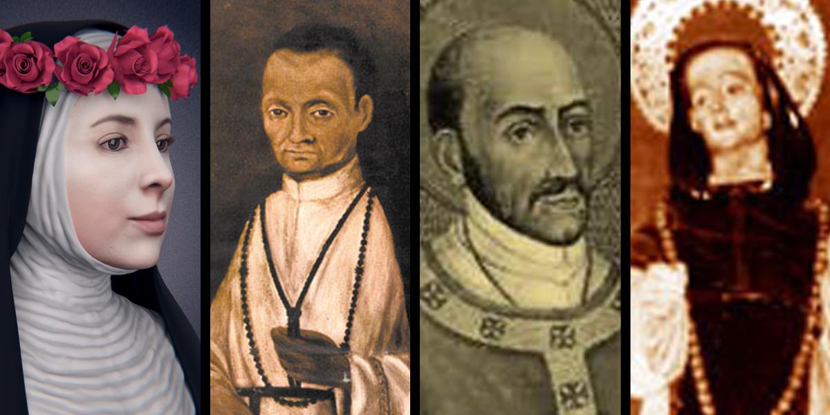 ST ROSE OF LIMA,ST MARTIN DE PORRES,ST TURIBIO OF MONGROVEJO,ST JOHN MACIAS
