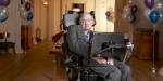 STEPHEN HAWKING,PHYSICIST,ALS