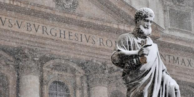 SNOW,ROME