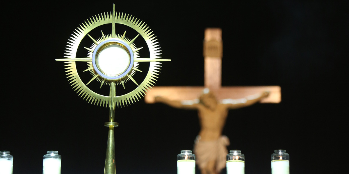 EUCHARIST,ADORATION
