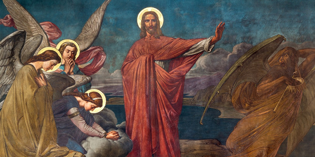 JESUS,SATAN,TEMPTATION