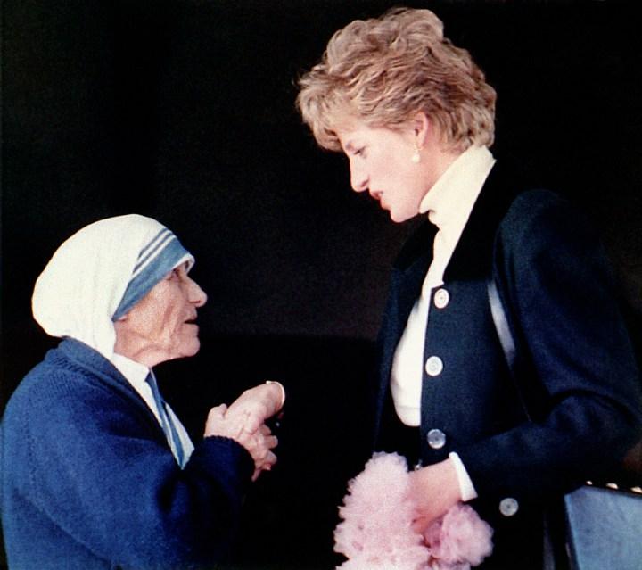MOTHER TERESA AND PRINCESS DIANA