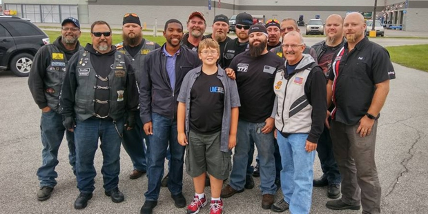 PHIL MICK AND BIKERS
