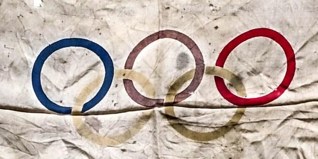 OLYMPIC SOUVENIR FLAG