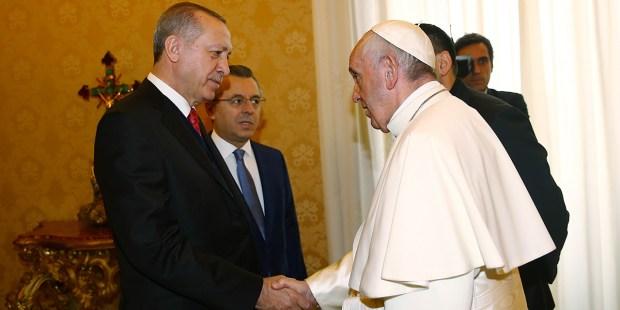 POPE FRANCIS AND ERDOGAN