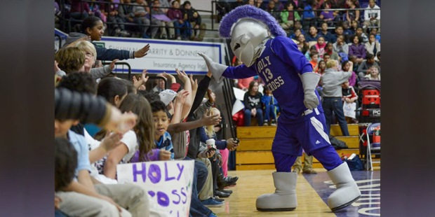 THE COLLEGE OF THE HOLY CROSS,CRUSADERS,MASCOT