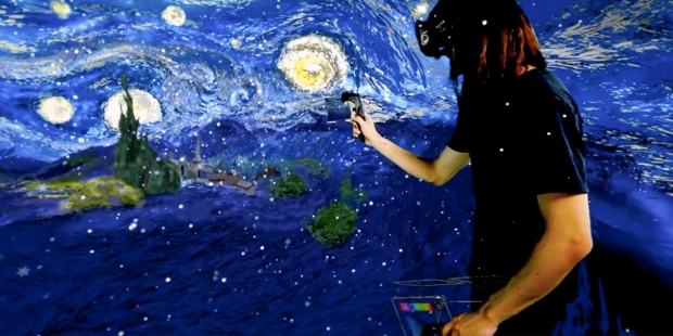 PAINTING THE STARRY NIGHT