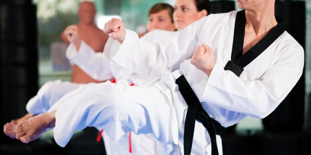 WOMAN,BLACK BELT,TAE KWONDO