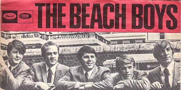 THE BEAXH BOYS ALBUM COVER