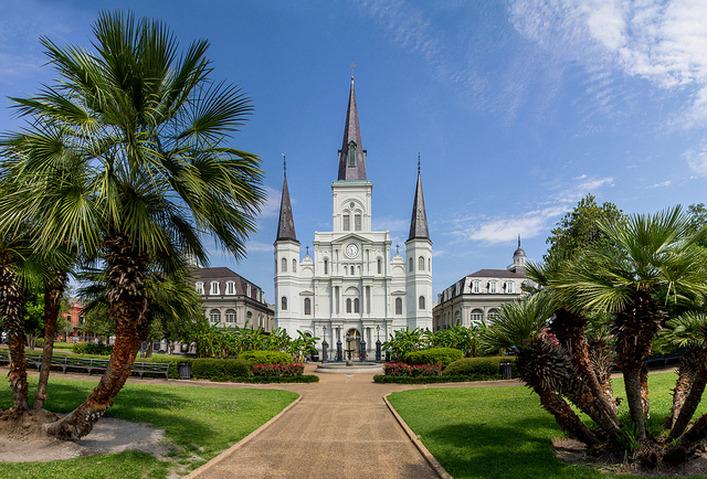 ST LOUIS CATHEDRAL,NEW ORLEANS
