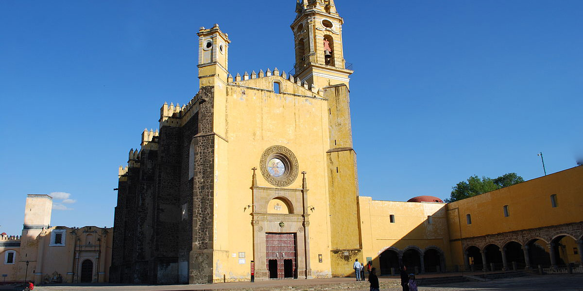 CHURCH OF ST GABRIEL,CHOLULA