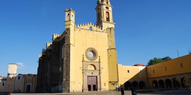 CHURCH OF ST GABRIEL,CHOLULA