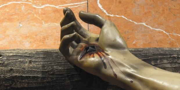CRUCIFIXION,NAIL,HAND,CHRIST
