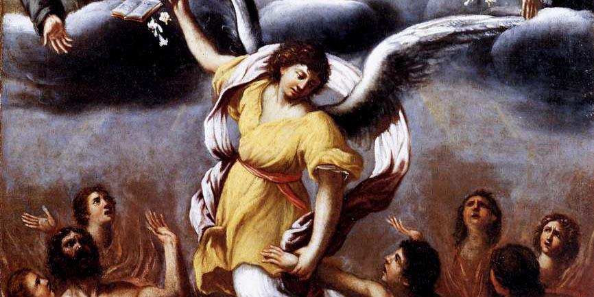 HOLY SOULS IN PURGATORY