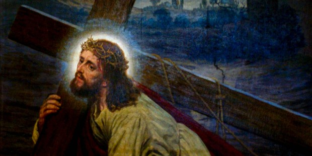 JESUS WITH THE CROSS
