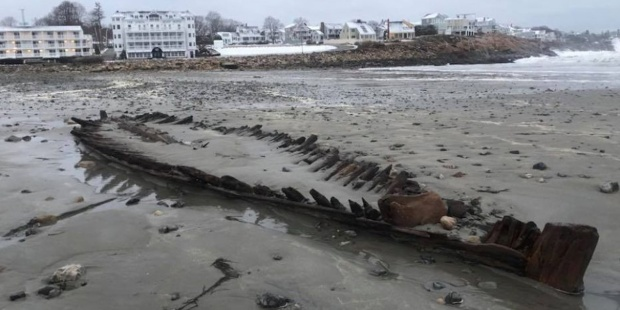 MAINE,NOR'EASTER,SHIPWRECK