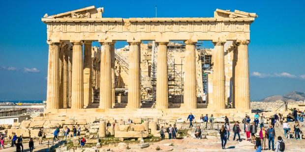 PARTHENON,ANCIENT GREECE,RUINS