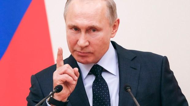 RUSSIAN PRESIDENT VLADIMIR PUTIN SPEECH