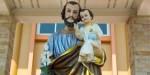 STATUE,ST JOSEPH,HOLY FAMILY