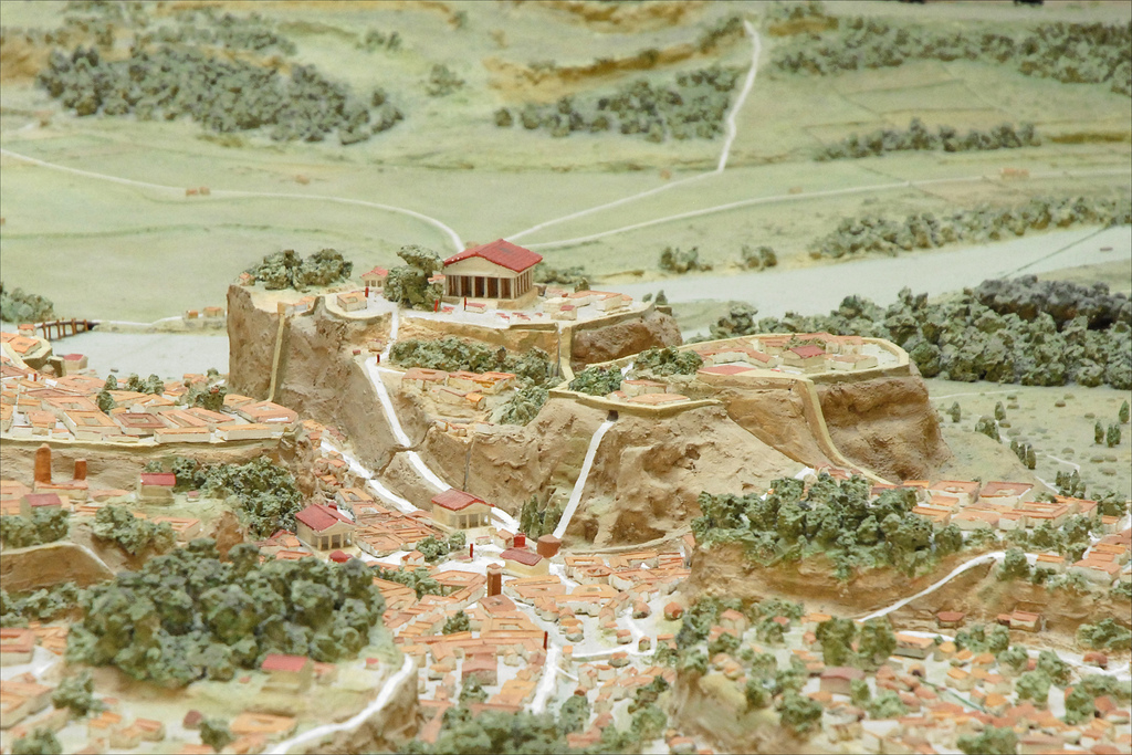 MODEL OF ANCIENT CITY OF ROME