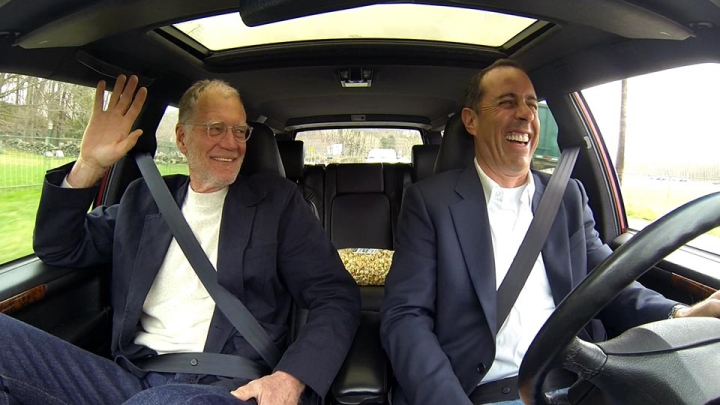 DAVID LETTERMAN AND JERRY SEINFELD