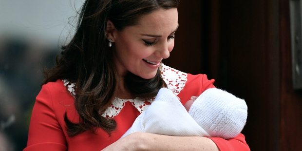 KATE MIDDLETON AND BABY