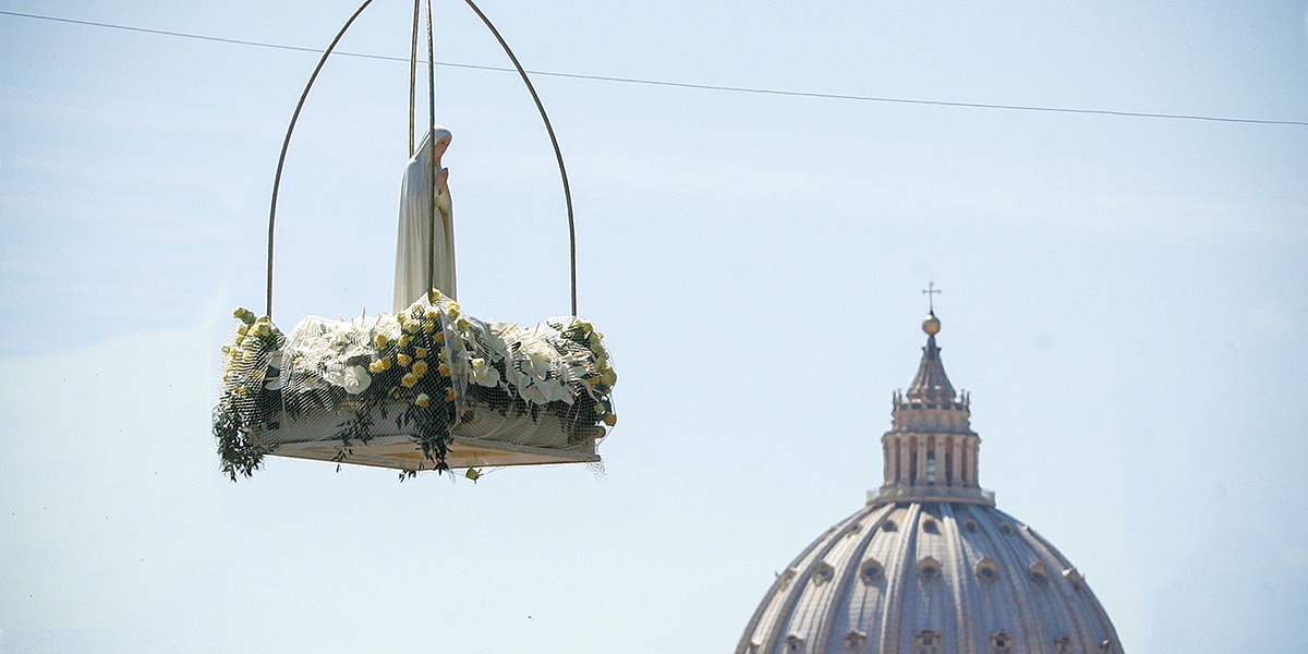 OUR LADY OF FATIMA,VATICAN