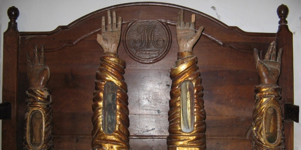 ARM,RELIQUARY,SAINTS