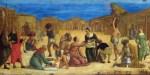 ISRAELITES GATHERING MANNA