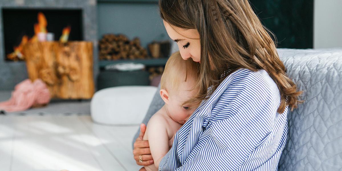 MOM,BABY,BREASTFEEDING