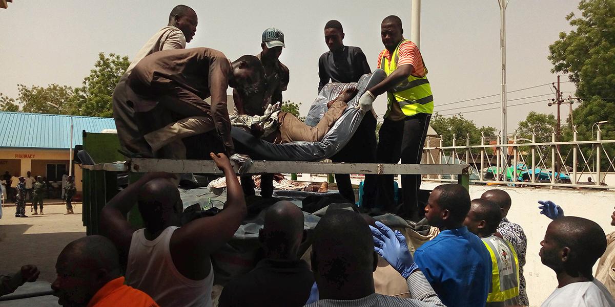 NIGERIA ATTACK BOMB