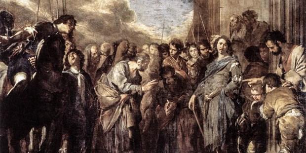ST PETER AND CORNELIUS THE CENTURION