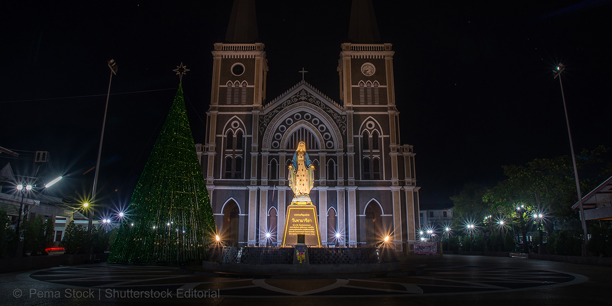 THAILAND,CATHEDRAL