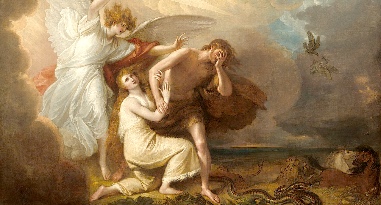 Benjamin West The Expulsion of Adam and Eve from Paradise