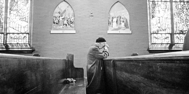 DOROTHY DAY AT MASS