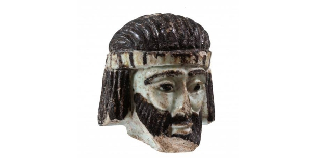 FACE,ANCIENT,BIBLICAL,KING,SCULPTURE