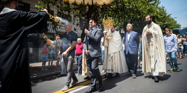 CORPUS CHRISTI,ROME,MARONITE