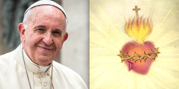 POPE FRANCIS,SACRED HEART