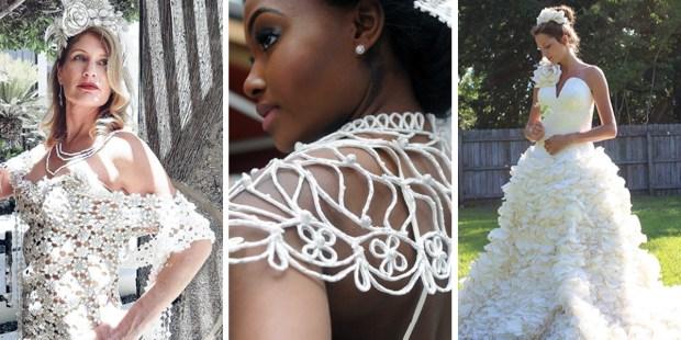 TOILET PAPER DRESSES