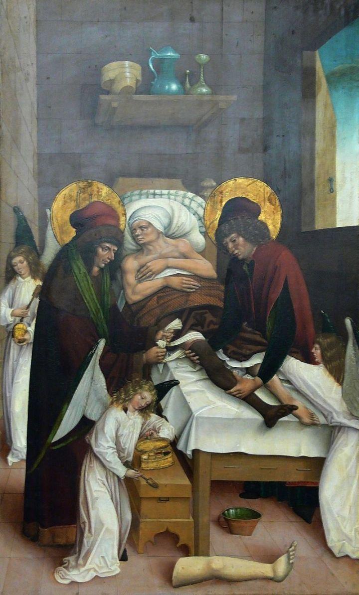 (slideshow) 10 Saints who served and healed the sick