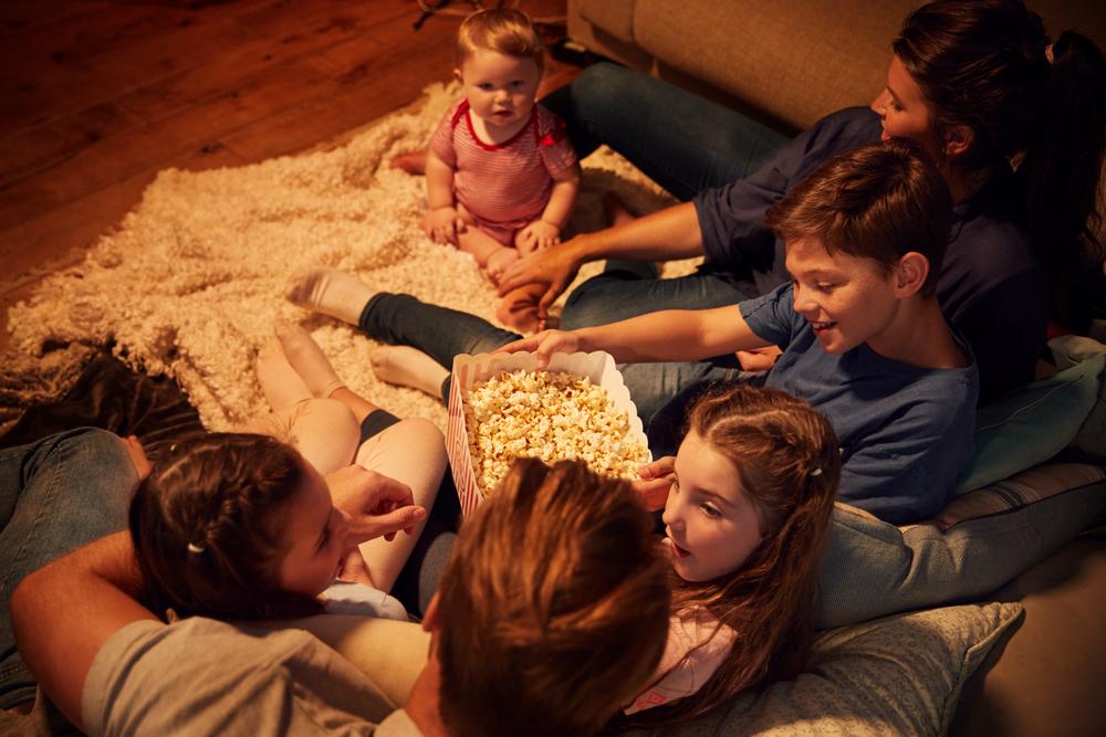 FAMILY,MOVIE,NIGHT
