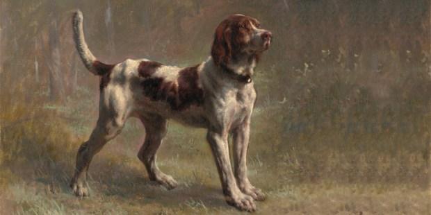 DOG,HOUND,PAINTING