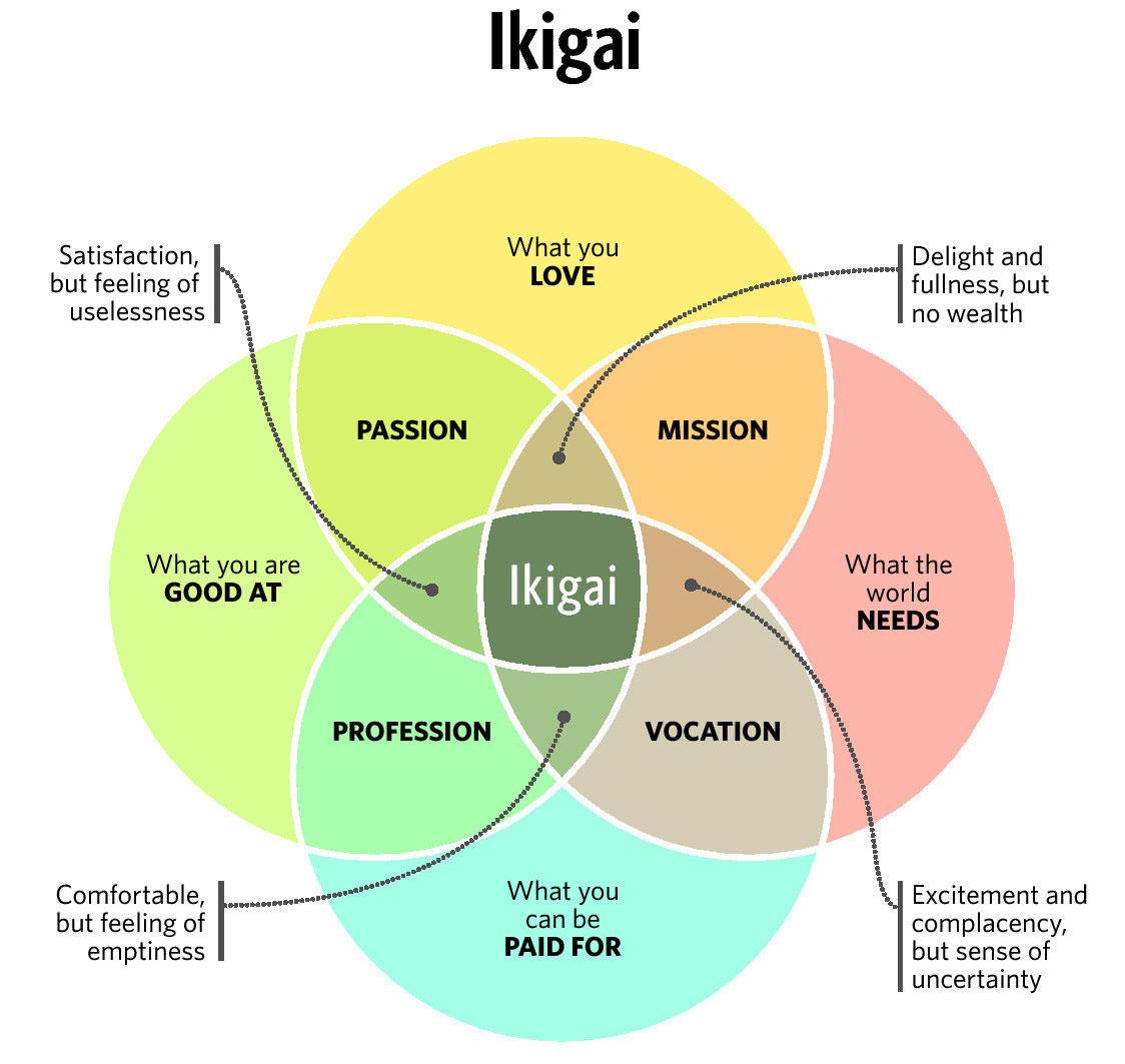 IKIGAI GRAPH