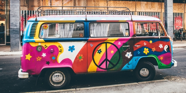 PAINTED,VW,BUS,PEACE