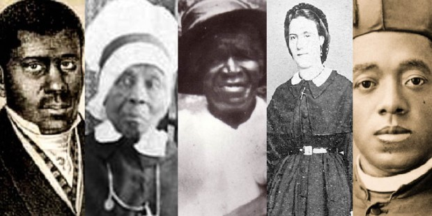 5 AFRICAN AMERICAN SAINTS