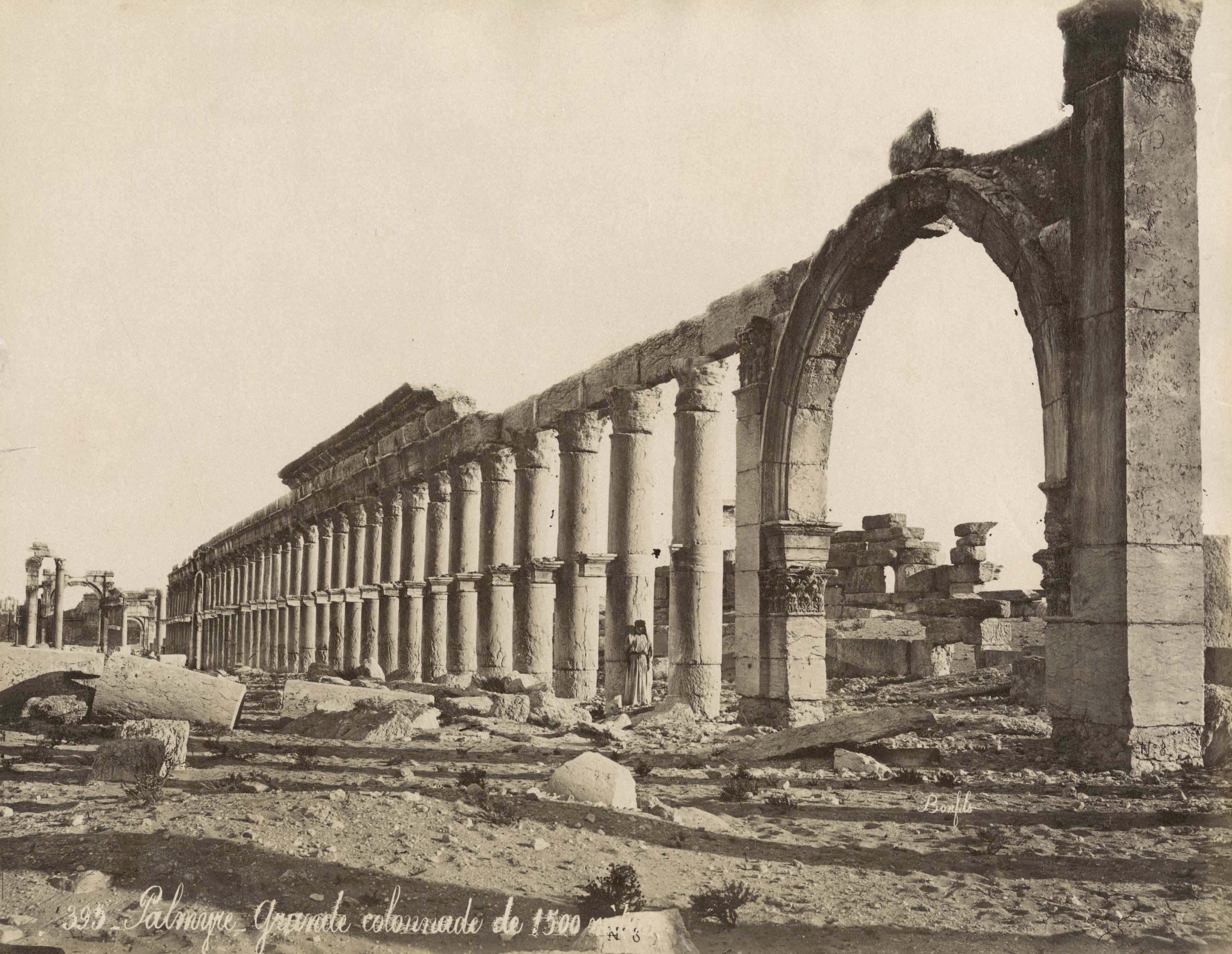 ANCIENT PALMYRA PHOTOGRAPHS